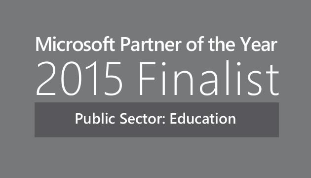 Microsoft Partner of the Year 2015 Finalist